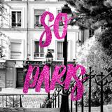 Paris Fashion Series - So Paris - Staircase Montmartre III Photographic Print by Philippe Hugonnard