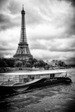 Paris sur Seine Collection - Josephine Cruise Photographic Print by Philippe Hugonnard