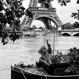 Paris sur Seine Collection - Liberty Tower II Photographic Print by Philippe Hugonnard