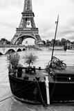 Paris sur Seine Collection - Destination Eiffel Tower IV Photographic Print by Philippe Hugonnard