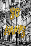 Paris Fashion Series - So Paris - Stairs of Montmartre Photographic Print by Philippe Hugonnard