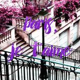 Paris Fashion Series - Paris, je t'aime - Stairs of Montmartre Photographic Print by Philippe Hugonnard