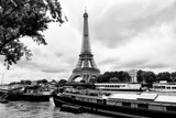 Paris sur Seine Collection - The Eiffel Tower and the Quays XIII Photographic Print by Philippe Hugonnard