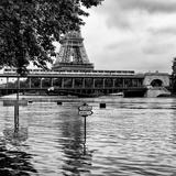 Paris sur Seine Collection - Eiffel Bridge VI Photographic Print by Philippe Hugonnard