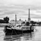 Paris sur Seine Collection - Boat Ride II Photographic Print by Philippe Hugonnard