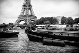 Paris sur Seine Collection - The Eiffel Tower and the Quays XVI Photographic Print by Philippe Hugonnard