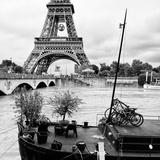 Paris sur Seine Collection - Destination Eiffel Tower VI Photographic Print by Philippe Hugonnard
