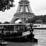 Paris sur Seine Collection - The Eiffel Tower and the Quays VII Photographic Print by Philippe Hugonnard