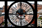 Giant Clock Window - View on Chelsea Market - Meatpacking District III Photographic Print by Philippe Hugonnard