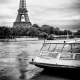 Paris sur Seine Collection - BB Boat III Photographic Print by Philippe Hugonnard