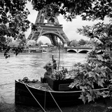 Paris sur Seine Collection - Liberty Tower VI Photographic Print by Philippe Hugonnard