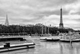 Paris sur Seine Collection - Bateaux Mouches IX Photographic Print by Philippe Hugonnard