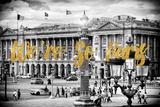 Paris Fashion Series - We're So Paris - Place de la Concorde Photographic Print by Philippe Hugonnard