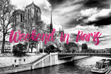 Paris Fashion Series - Weekend in Paris - Notre Dame Cathedral III Photographic Print by Philippe Hugonnard