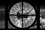 Giant Clock Window - View of the San Francisco Bay Photographic Print by Philippe Hugonnard