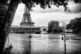 Paris sur Seine Collection - Eiffel Bridge Photographic Print by Philippe Hugonnard