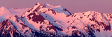 Alpenglow on Olympic Mountains Prints by Douglas Taylor
