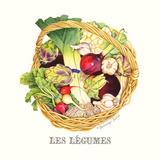Les Legumes Prints by Gwendolyn Babbitt