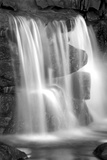 Sunset Waterfall II BW Posters by Douglas Taylor