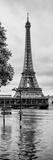 Paris sur Seine Collection - Along the Seine V Fotografisk tryk af Philippe Hugonnard