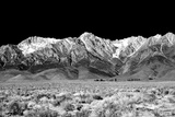 Owens Valley BW Art by Douglas Taylor