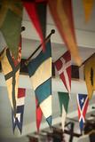 Yacht Club Flags II Prints by Karyn Millet