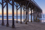 San Simeon Pier II Print by Lee Peterson