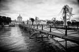 Paris sur Seine Collection - Pont des Arts Photographic Print by Philippe Hugonnard