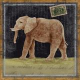 Elephant/Elefanten Poster von Lisa Ven Vertloh