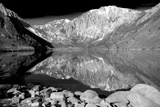 Laurel Mountain Reflections BW Art by Douglas Taylor