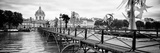 Paris sur Seine Collection - Pont des Arts II Photographic Print by Philippe Hugonnard