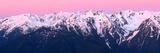 Dawn at Hurricane Ridge Print by Douglas Taylor