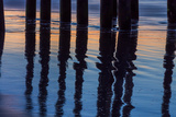 Ventura Pier Reflections I Prints by Lee Peterson