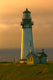 Yaquina Head Lighthouse Poster by George Johnson