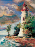 Shoreline Lighthouse Posters by Todd Williams