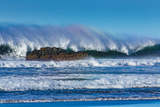 Waves in Cayucos I Posters by Lee Peterson