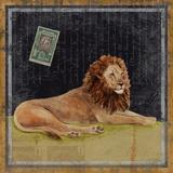 Lion Kunstdrucke von Lisa Ven Vertloh