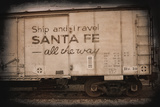 Santa Fe All the Way Prints by George Johnson