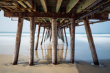 Imperial Beach Pier Prints by Lee Peterson