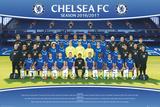 Chelsea FC- Team 16/17 Poster