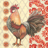 Bohemian Rooster II Posters by Kimberly Poloson