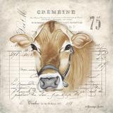 French Cow Print by Gwendolyn Babbitt