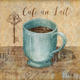 Bonjour Cafe III Prints by Paul Brent