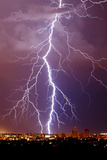 Lightning Portrait Posters by Douglas Taylor