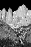 Morning on Mt. Whitney II BW Prints by Douglas Taylor