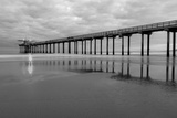 Scripps Pier BW II Prints by Lee Peterson