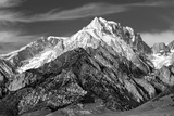 Mt. Williamson I BW Art by Douglas Taylor