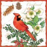 Holiday Birds II Prints by Julie Paton