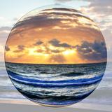 Sunrise Circle I Posters by Alan Hausenflock