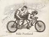 Ride Portland Prints by Gwendolyn Babbitt
